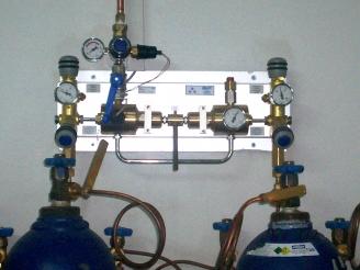 Autochange(Otomatik)Tüp Manifoldu, Otomatik Tüp Manifoldu, otomatik basınç düşürme istasyonu, oksijen tesisatı