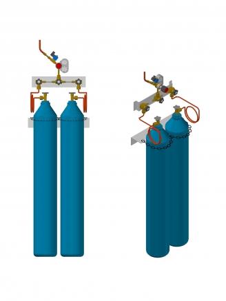 Basınç kontrol paneli, basınç düşürme istasyonu, manifold, regülatör